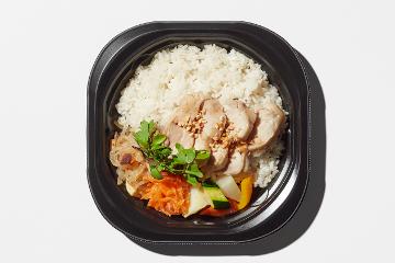 アジアのどんぶり弁当