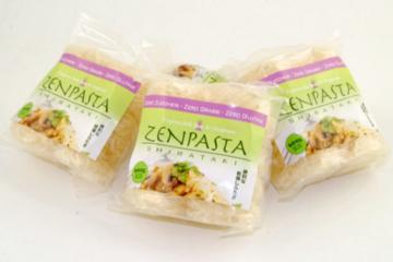 当初、イタリアで販売をスタートしたときの「ZENPASTA スパゲッティ(=ぷるんぷあん)」。ゼンパスタの原点。